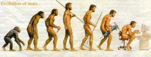 Evolution of Man?! - I will never ever believe that I came from a monkey..would you?