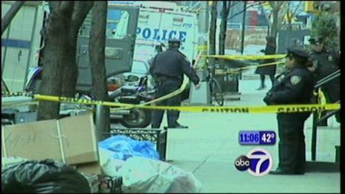 Shooting  - Boy gets shot waling down the street.
