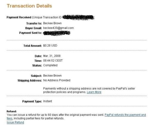 starclicks - Payment proof