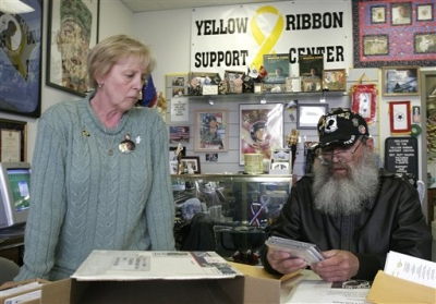 Parents Keith and Carolyn Maupin at the Yellow Rib - Inspired shortly after Matt Maupin went missing, his parents began the Yellow Ribbon Support Center. This organization was dedicated to all of the military personnel currently assigned overseas defending this great country. We also hope to offer moral support to the loved ones left behind. We are not experts but are willing to lend a listening ear and maybe learn something along the way.