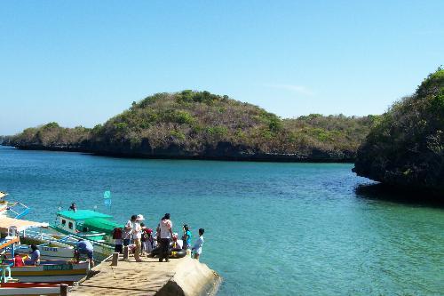 view from children island - children island