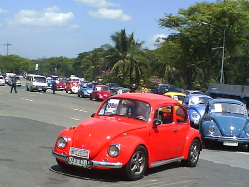 the parade - for the love love love of volkswagen cars!
