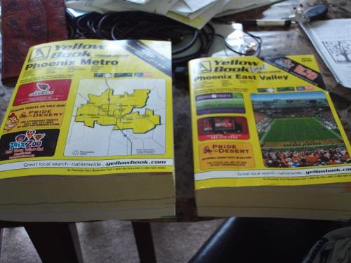 Phone book - two phone books