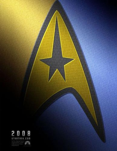 The Star trek 2008 Movie Poster - Exactly what the subject line says...