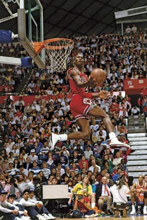 Michael Jordan Dunk Pictures