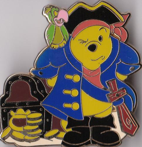 pooh bear - hey look its winnie the pooh bear as a pirate