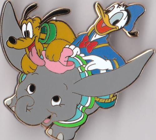 donald duck pluto and dumbo - donald duck dumbo and pluto