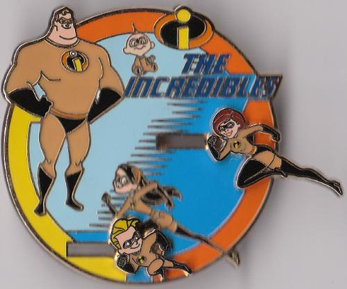 the incedibles - the incredibles family