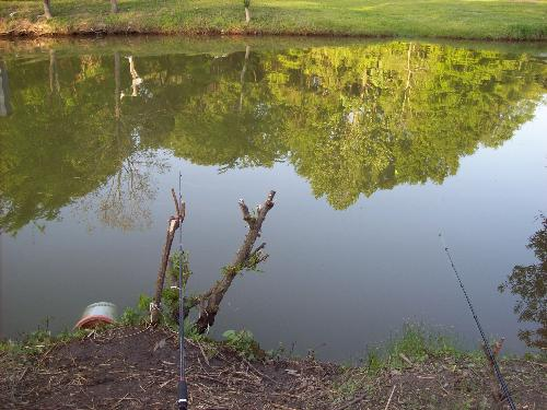 The Fishing Hole - This is where we go crappie fishing in East Texas. A very relaxing view as twilight approaches.