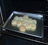 Homemade Biscuits - Homemade biscuits about to be taken out of the oven.