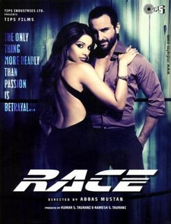 Race Movie Poster - Its the tittle Poster of Race Movie