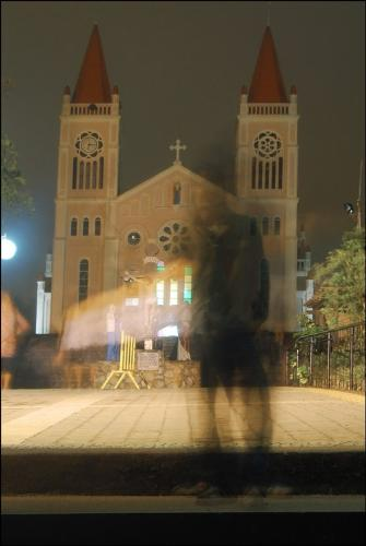 Horrors of yesterday - This was taken by Pizzakim of baguiocityonline.com Baguio Cathedral located northern part of Philippines.