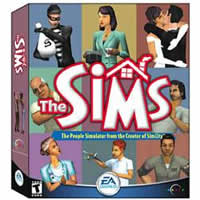 the sims!!! - it is the picture of cover of the sims game cd.