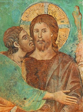 Judas - Judas kissing Jesus A true companion.