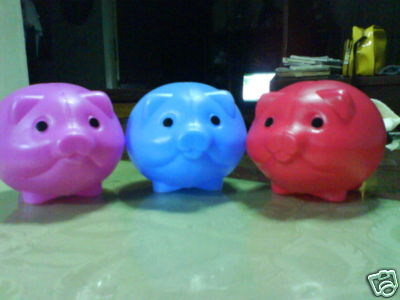 coin banks - piggy banks for saving  BABOO is not here.