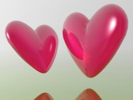 love - twin hearts of love