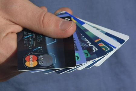 Credit Cards - shopping with credit cards