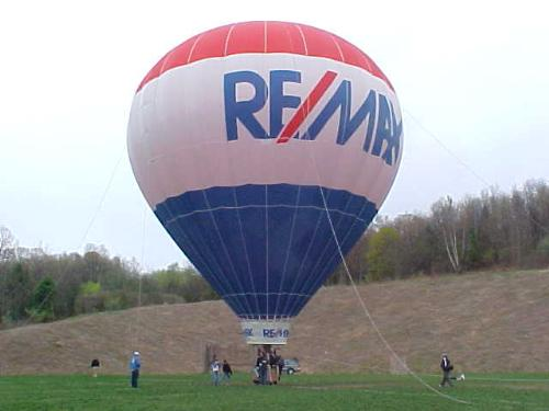 Hot air balloon - This is the hot air balloon that I rode on today