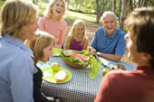 Picnic - Nothing better than being surrounded by family