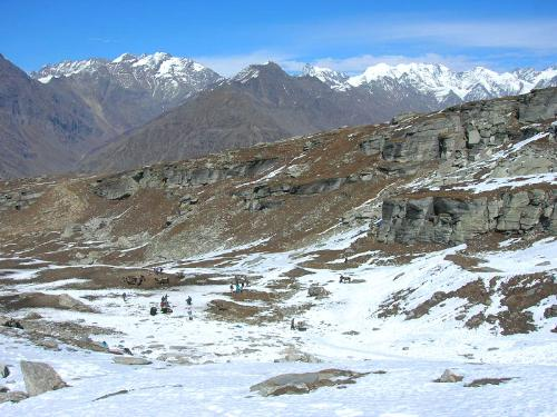 Rohtang Pass - A view from Rohtang top
