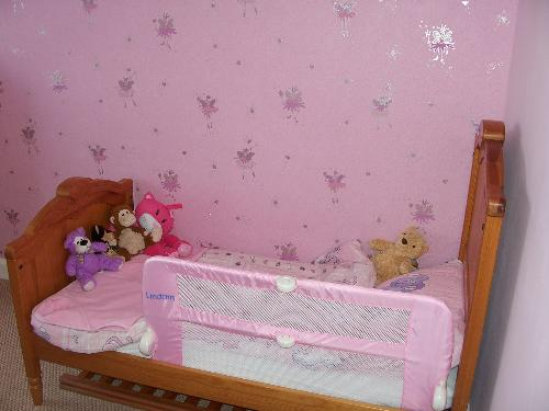 Beccas new bed - My youngest new bed, and their newly decorated bedroom!