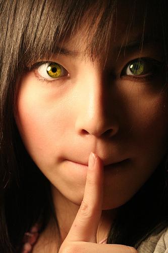 Shh - Shh, be quiet. Can't praise too loud
