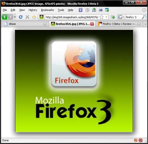 Firefox 3.0 beta 5 - The latest beta version of Firefox 3.0