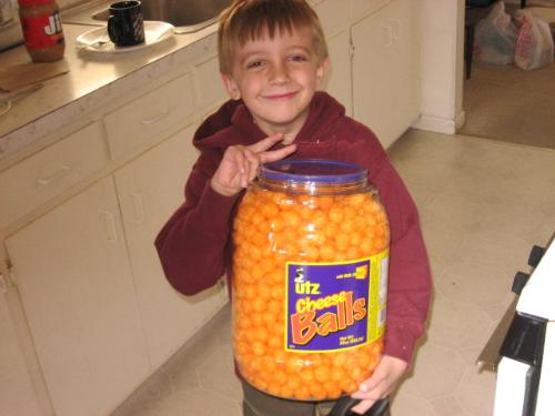 Grandsons Treats - he loves these things