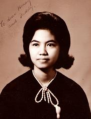 Mother - My mom's pic when she graduated in college.