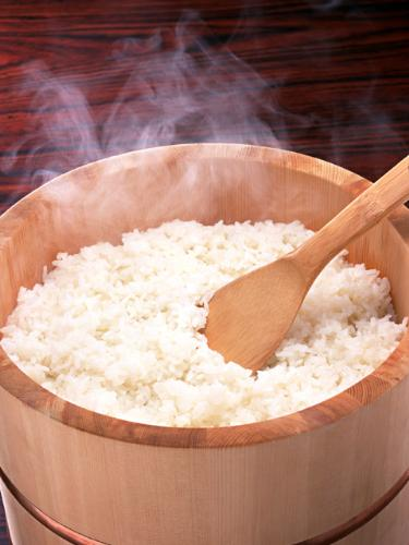 Healthy rice - My idea of a healthy meal.
