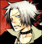 Gokudera - A picture of the tenth (Tsuna) right hand man.