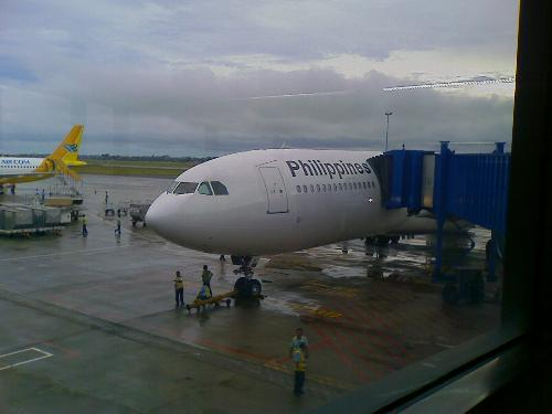 PAL and CEB PAC - Philippine Airlines and Cebu Pacific