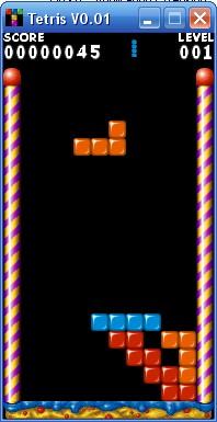 Tetris game - Tetris game..