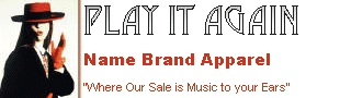 Play It Again Name Brand Apparel - My Store Logo.