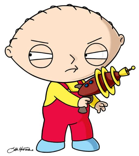 Stewie - Stewie Griffin from family guy. :D