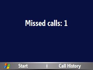 Missed Call - Missed call..
