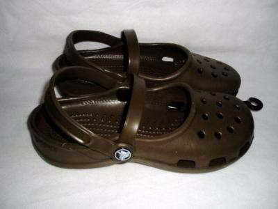 CROCS sandals  - CROCS beach sandals in brown