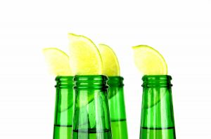 beer with lime - is this common to do?