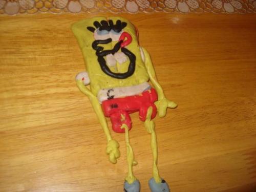 Spongebob Squarepants - spongebob clay, hey.. what do you say?!