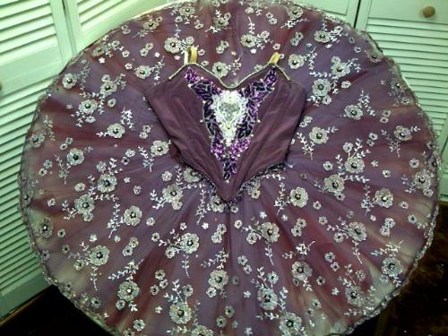 Sugar plum costume - This is a photo of a platter tutu used for Sugar Plum.
