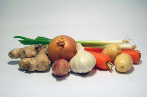 Vegetables - Picture of root vegetables