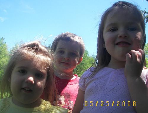 my 3 rugrats :) - My 3 children. They have all gotten so big.