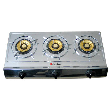 gas stove - A picture of gas stove