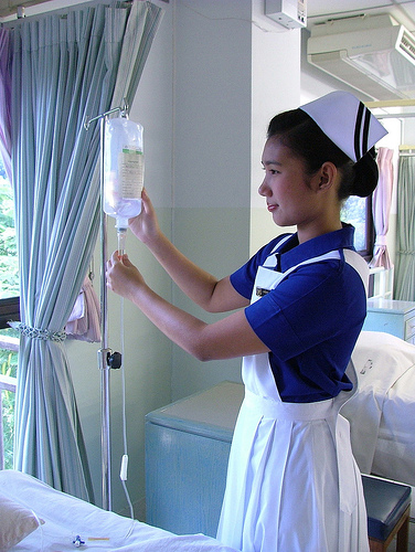 nursing student - nurse