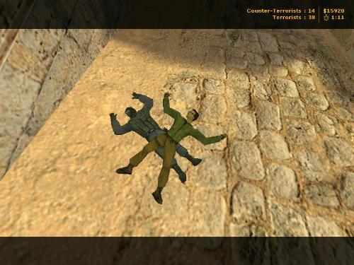 CS 1.6 funny  - After killing my enemy I died...