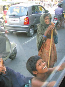 begging - A kid begging picture
