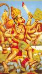 Hanuman - Hanuman - a monkey god known for his strength and valor