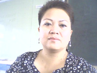 Simply me - Picture taken during our class break.