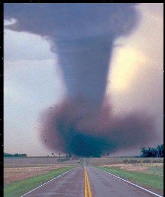 Picture of a torndo - a picture of a tornado. Never want to see one either