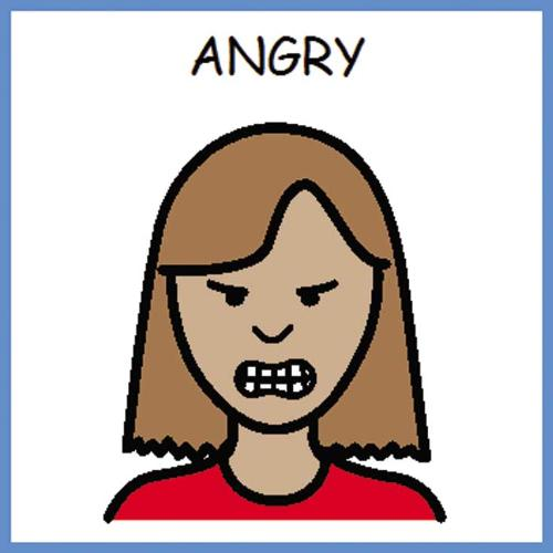 angry - are you going to get mad?